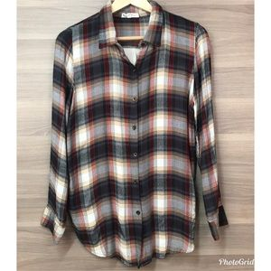 About A Girl Plaid Waffle Flannel